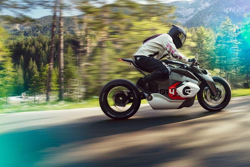 BMW 推出全新電單車 Motorrad Vision DC Roadster