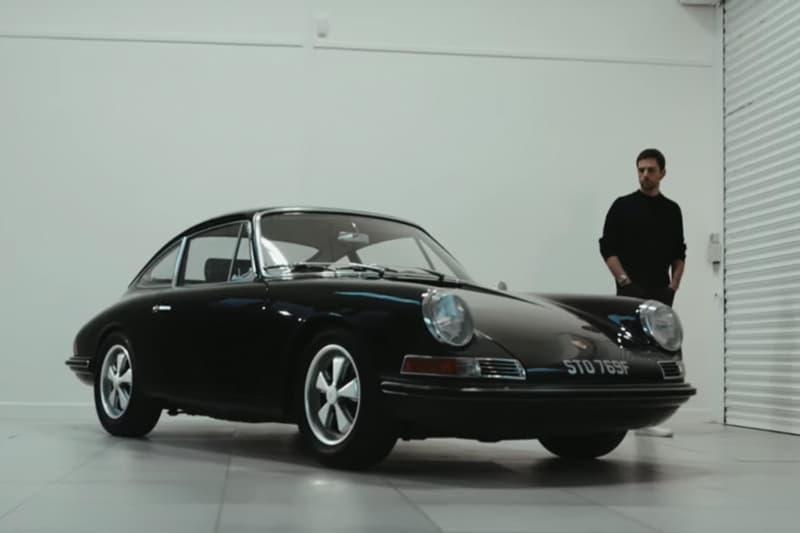 Coldplay 團員 Guy Berryman 展示其愛車 Porsche 911S