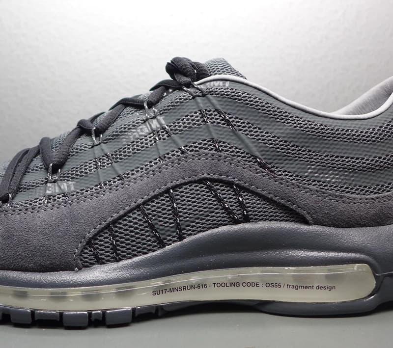 藤原浩再次曝光 fragment design x Nike 聯名鞋款 Sample