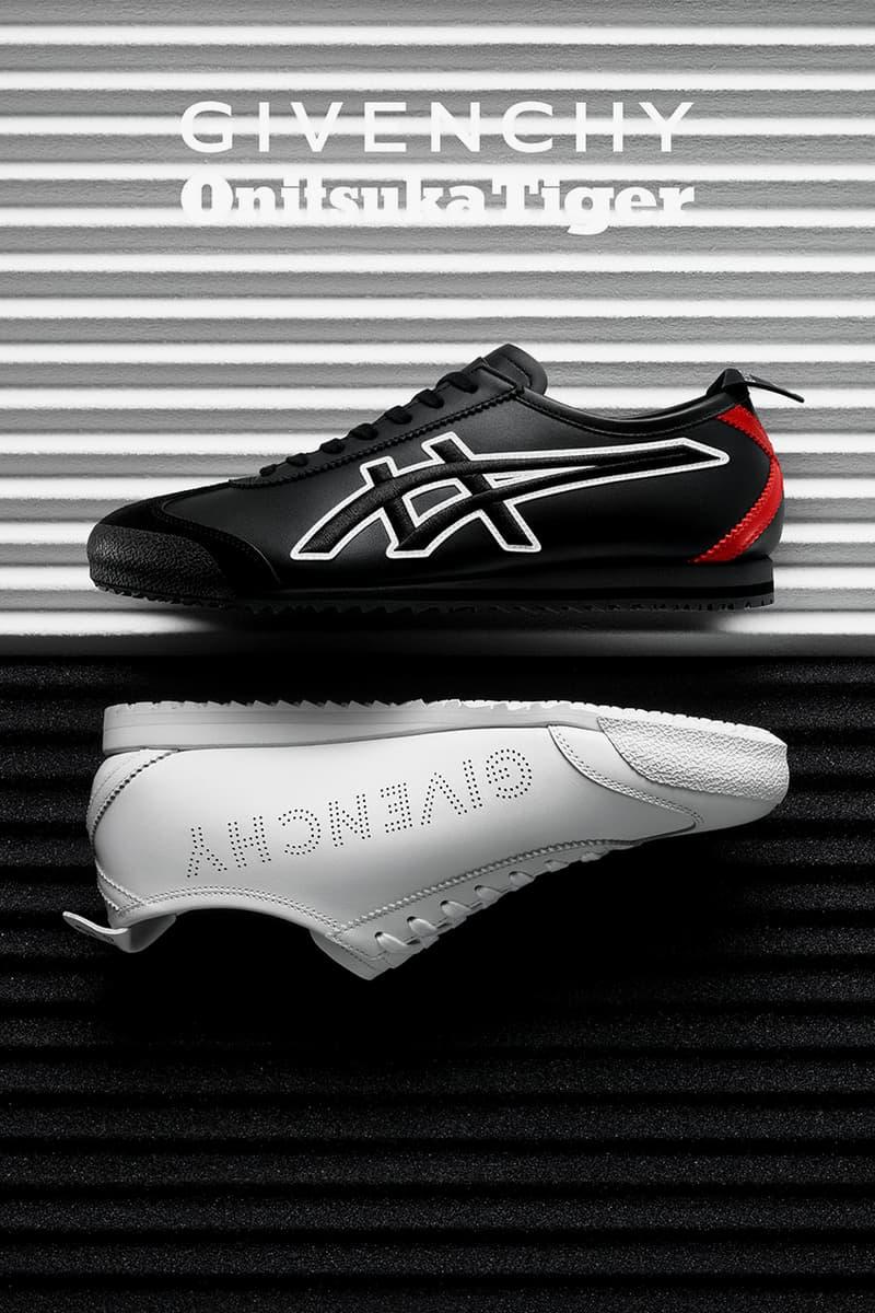 Givenchy 與 Onitsuka Tiger 推出聯名「Nippon Made」Mexico 66 GDX 鞋款