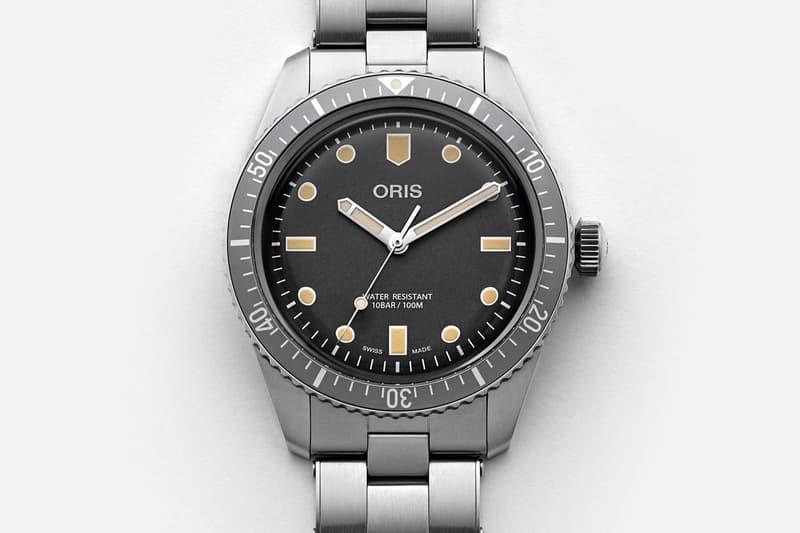 Oris x HODINKEE 聯乘限量 Divers Sixty-Five 腕錶發佈
