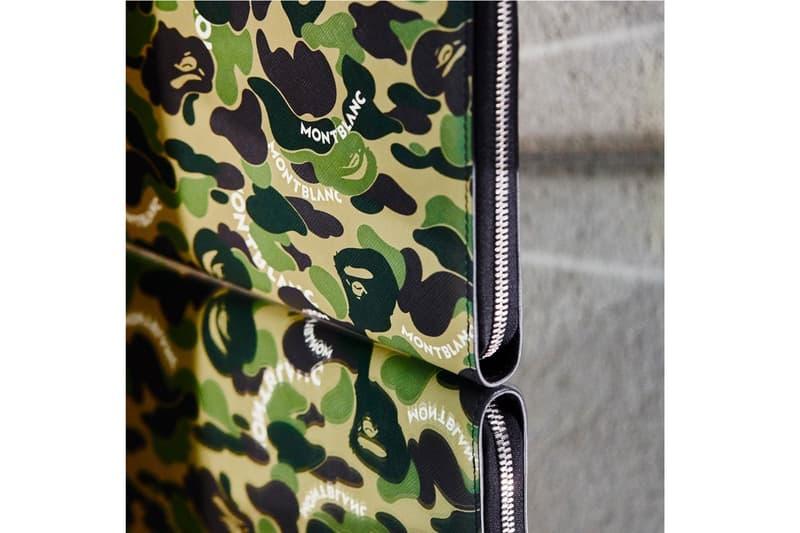 A BATHING APE® x Montblanc 全新奢華皮具系列登场