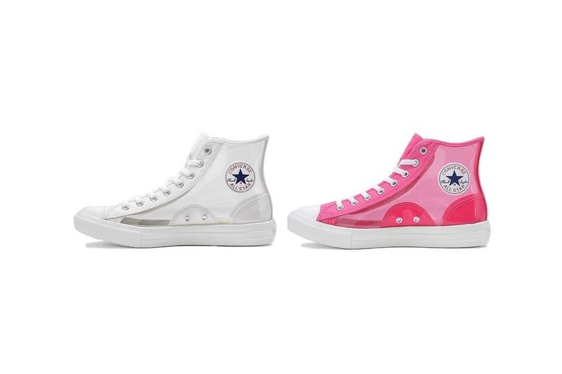 Converse Japan 釋出主打半透明鞋面的全新 All-Star 系列