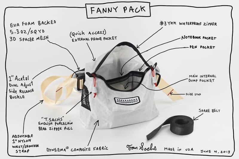 Tom Sachs 創作室團隊機能腰包 FANNY PACK 限定發售