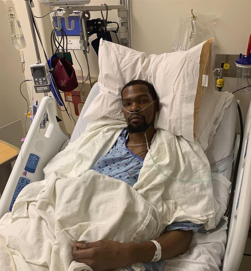 Kevin Durant 宣佈自己跟腱斷裂並已成功接受手術