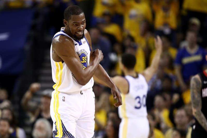 NBA 季後賽 2019-Kevin Durant 現身恢復與球隊進行訓練