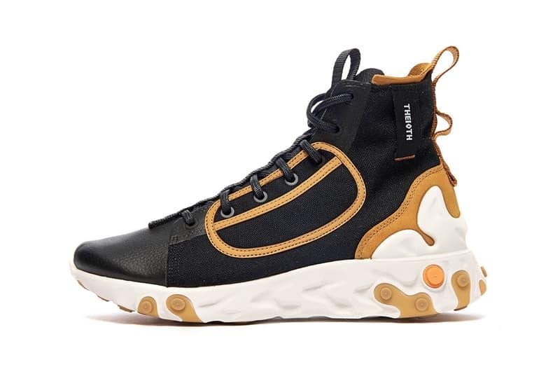 Nike 全新機能運動鞋 React Sertu 即將登場