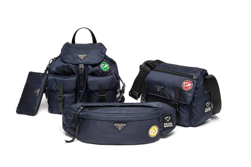 Prada 推出全新 Prada Re-Nylon 手袋系列