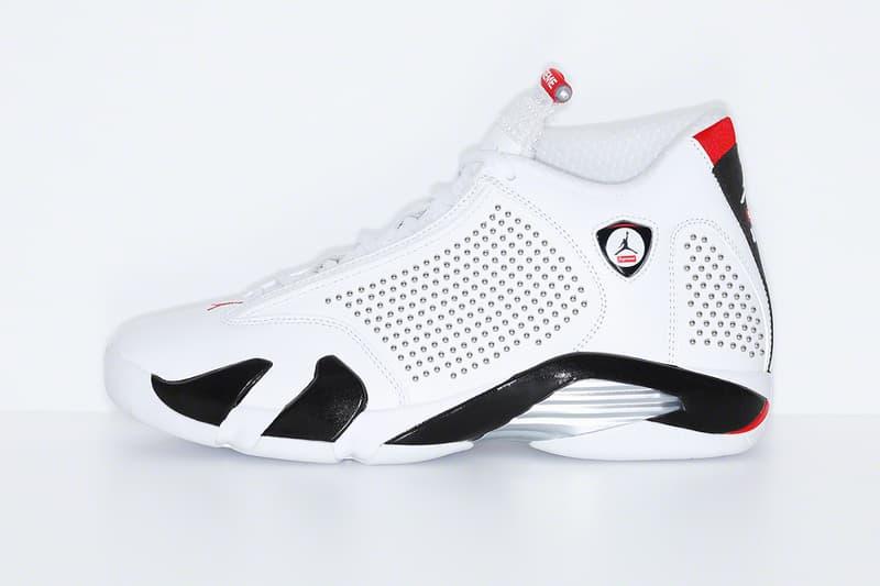 Supreme x Air Jordan 14 聯名系列正式發佈