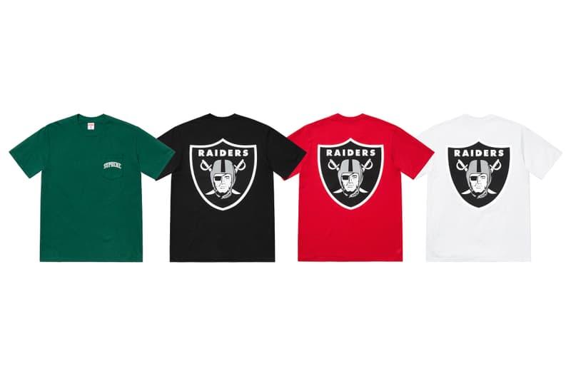 Supreme x NFL x Raiders x '47 2019 全新聯名系列正式發佈