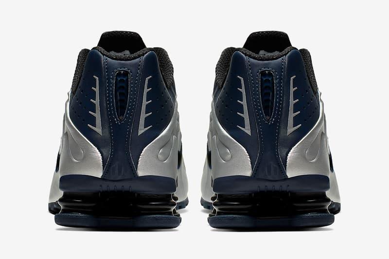 聯乘續勢-Nike Shox R4「Silver Navy」配色回歸