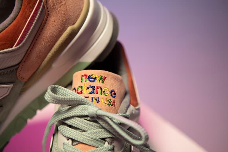 Todd Snyder x New Balance 997 全新「LOVE」聯名別注配色上架