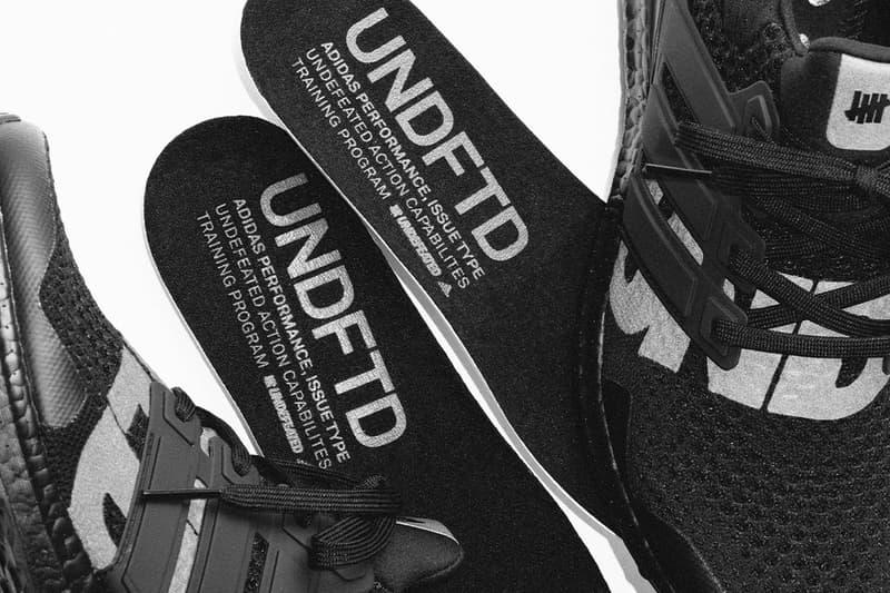 UNDEFEATED x adidas UltraBOOST 1.0 最新聯乘配色「Blackout」官方圖輯釋出