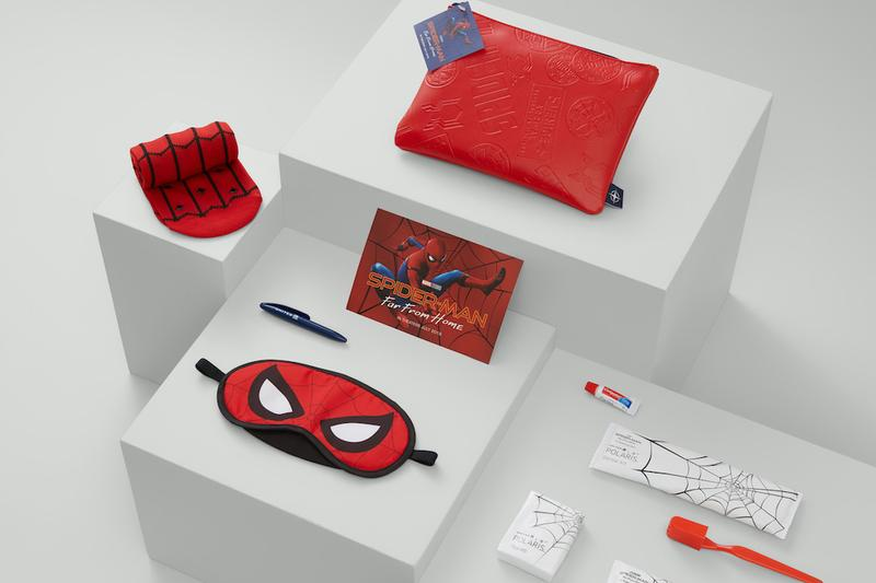 美國聯合航空聯手《Spider Man : Far From Home》追加旅行用品