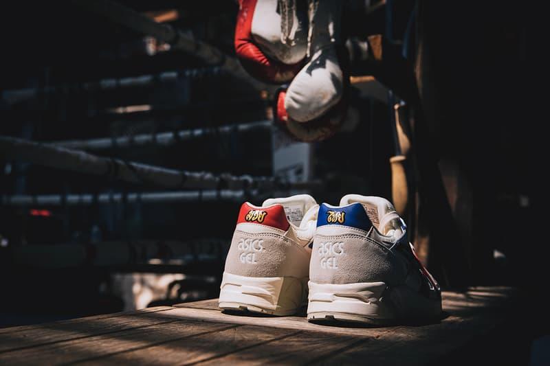 ASICSTIGER x Carnival「MUAY THAI」別注泰拳主題聯名鞋款