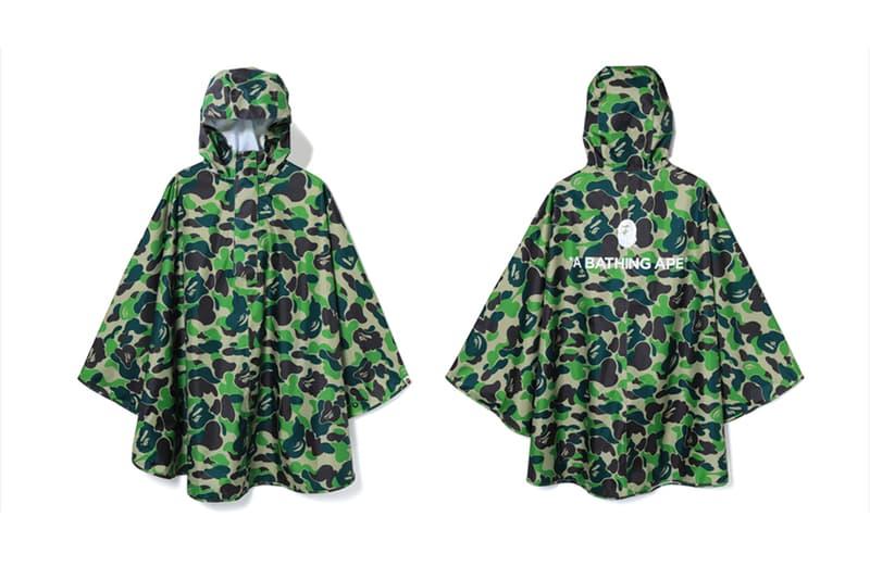 A BATHING APE® 推出 ABC CAMO 斗篷雨衣