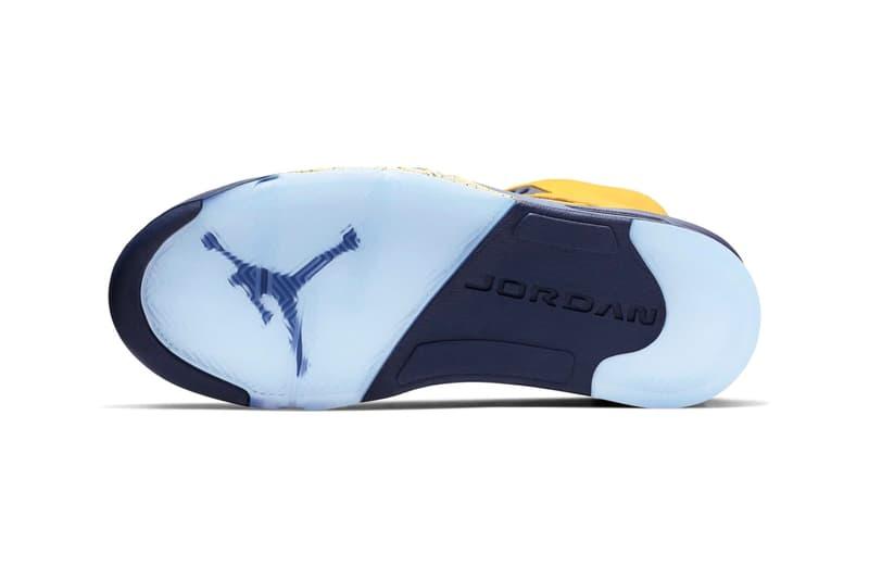 Air Jordan 5「Michigan」別注配色發售詳情公開