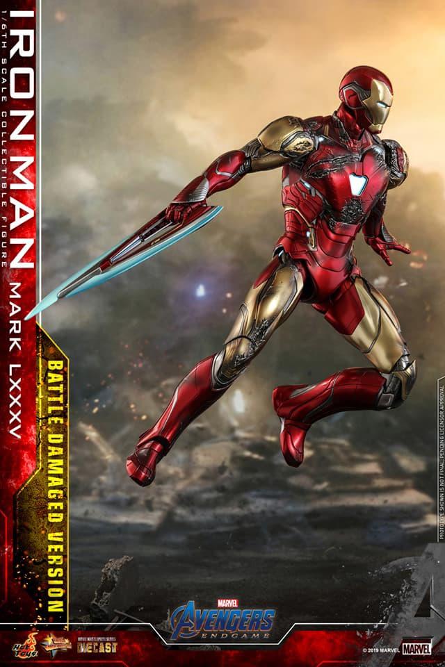 「I am Iron Man!」Hot Toys 推出 1:6 比例 Iron Man Mark LXXXV 戰損版珍藏人偶