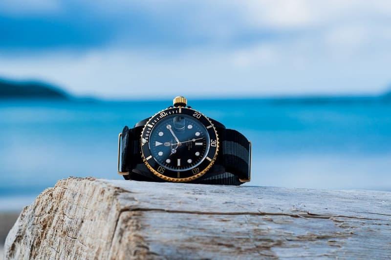 A BATHING APE® 打造全新 NATO 錶帶 TYPE 1 BAPEX