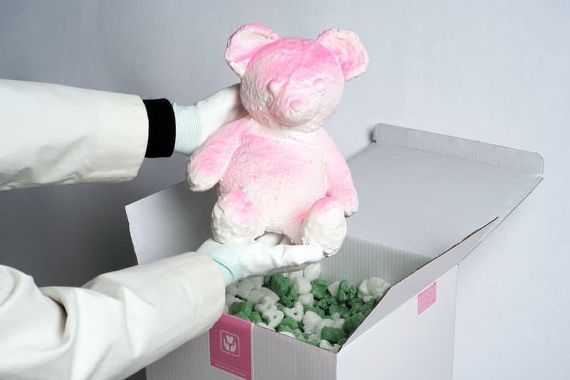 Daniel Arsham 全新藝術作品 PINK CRACKED BEAR 上架發售