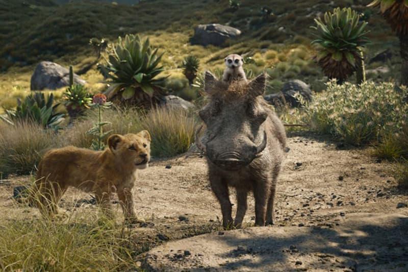 Donald Glover 及 Seth Rogen 於全新《The Lion King》電影宣傳片演唱《Hakuna Matata》