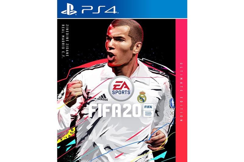 傳奇球星 Zinedine Zidane 成為《FIFA 20》終極版封面人物