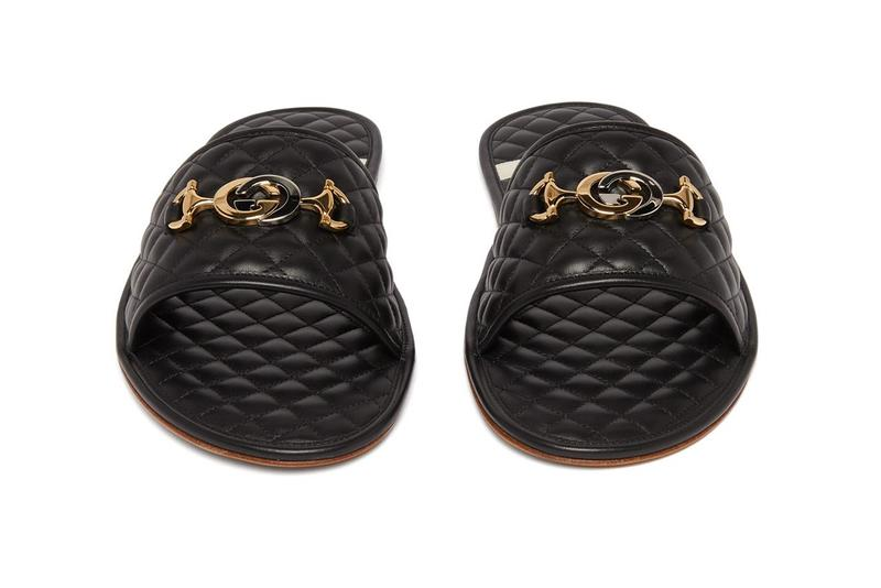 Gucci 釋出最新 GG Logo 全皮革奢華拖鞋