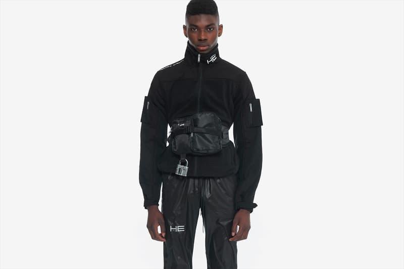 HELIOT EMIL 打造了一款具「磁力」的機能工裝褲