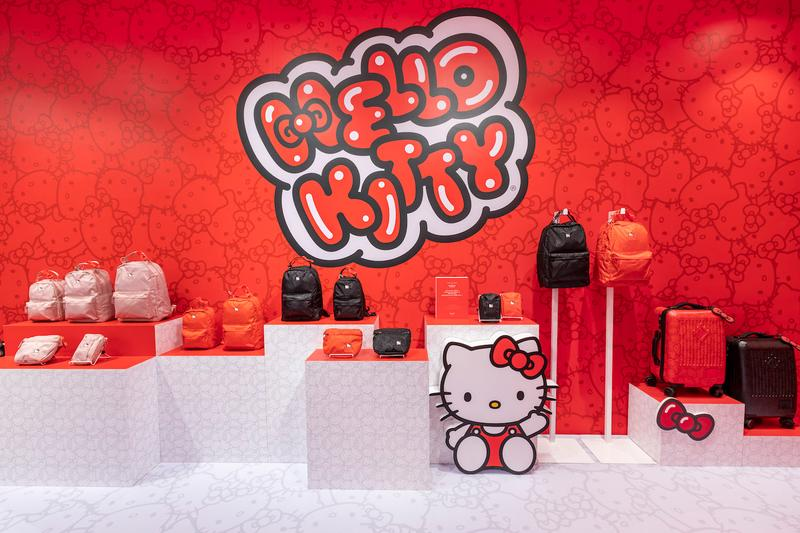 走進 Herschel Supply x Hello Kitty 45 週年別注系列 Pop-Up 期限店