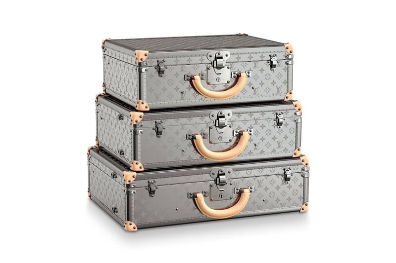 奢華超進化-Louis Vuitton 經典 Bisten Suitcases 推出鈦金屬版本