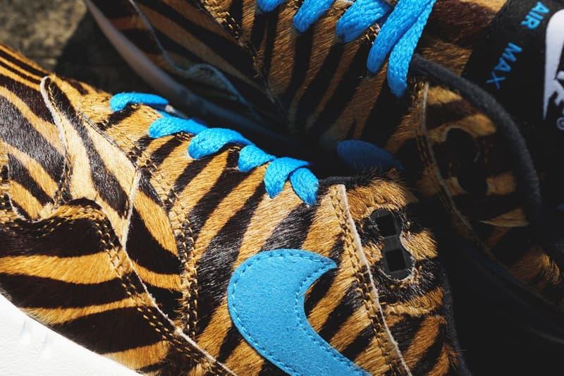 近賞 atmos x Nike Air Max 1「Animal 3.0」聯乘系列新作