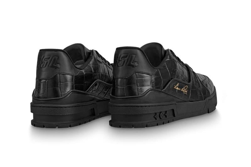 Louis Vuitton LV Trainer 全新「暗黑」版本正式上架