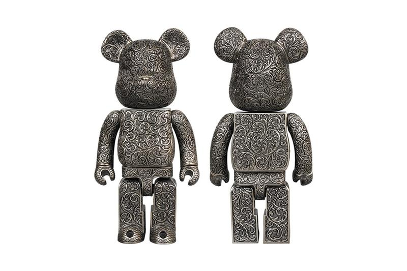 Medicom Toy 攜手 Royal Selangor 打造「Arabesque Black」錫製 BE@RBRICK