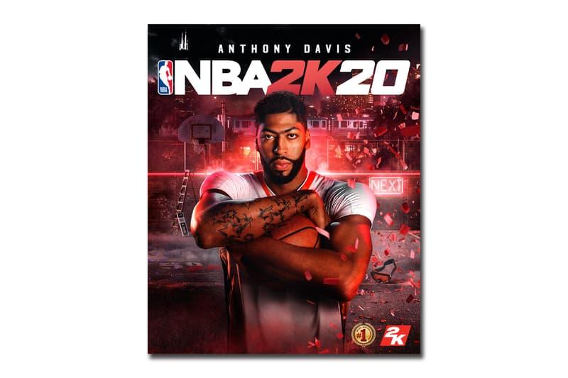 Anthony Davis 及 Dwyane Wade 成為《NBA 2K20》封面人物