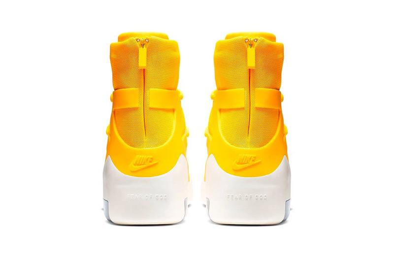 Jerry Lorenzo 曝光全新 Nike Air Fear of God 1「Yellow」鞋款
