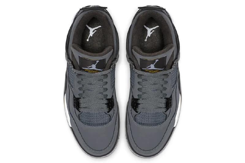Air Jordan 4 最新復刻配色「Cool Grey」官方發售日期正式公開