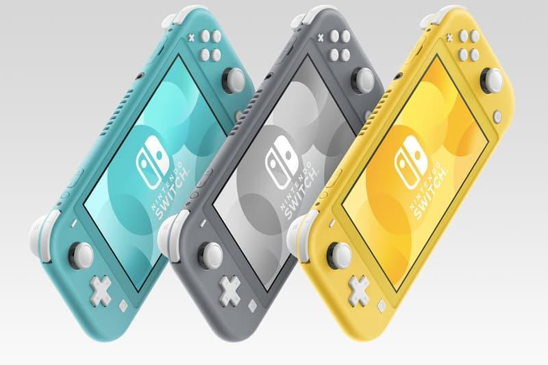 Nintendo 最新機型 Switch Lite 正式發佈