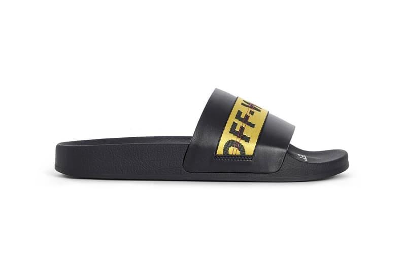 Off-White™ 推出品牌經典工業腰帶樣式拖鞋