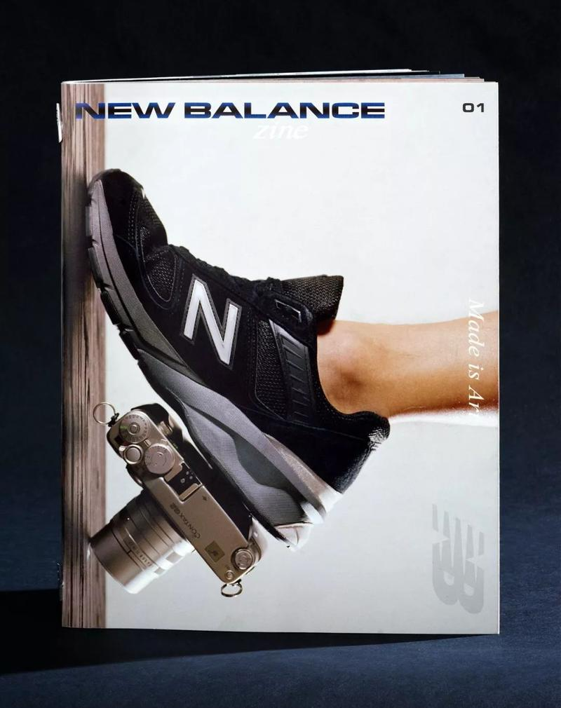 Same Paper 攜手 New Balance 打造 New Balance Zine Issue 01