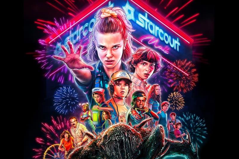 Netflix 發佈《Stranger Things 3》購物商城 Starcourt Mall 之幕後花絮影片