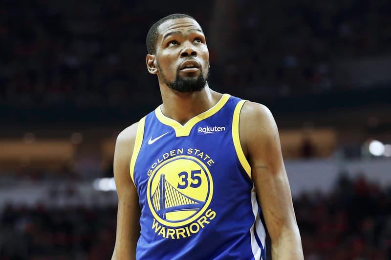 Warriors 老闆表示球隊將退役 Kevin Durant 的 35 號球衣