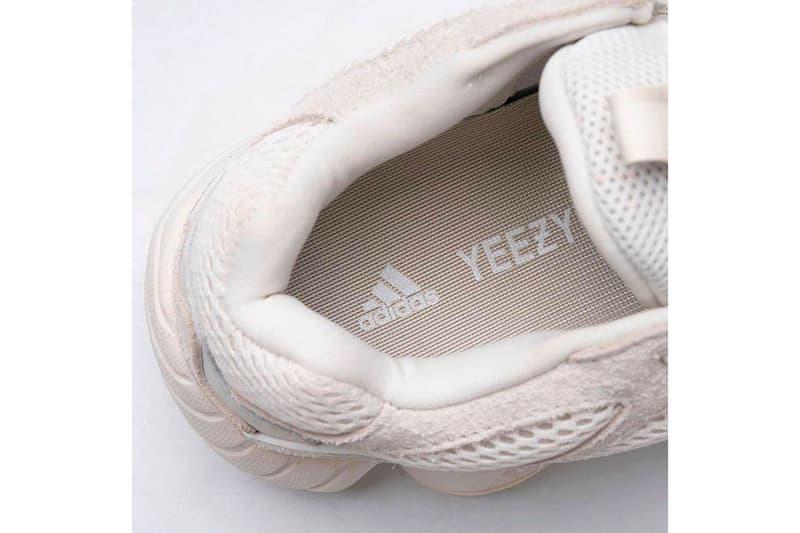 UPDATE: YEEZY 500 全新配色「BONE WHITE」發售日期正式公開