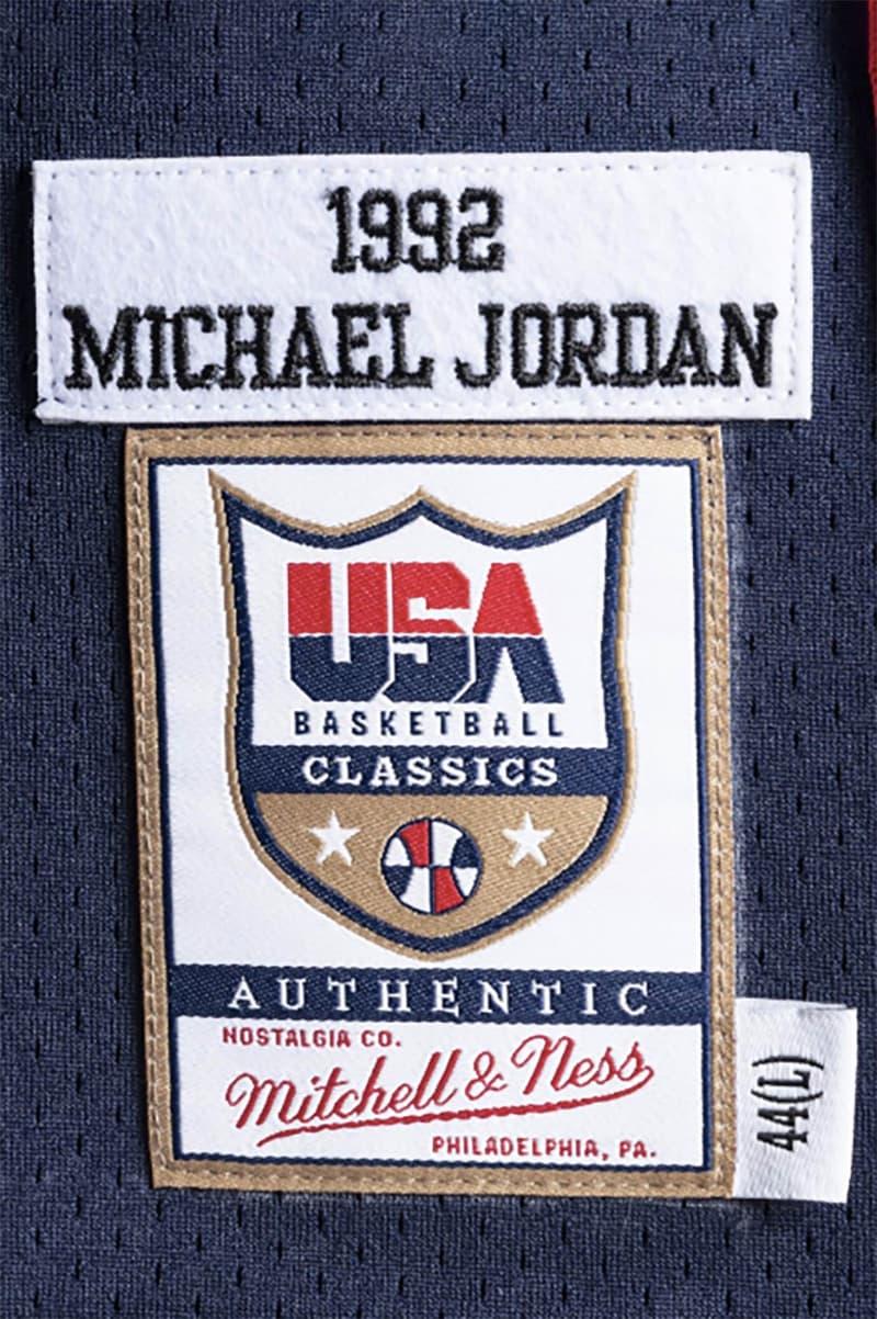 Mitchell & Ness 復刻美國「夢一隊」經典球衣系列