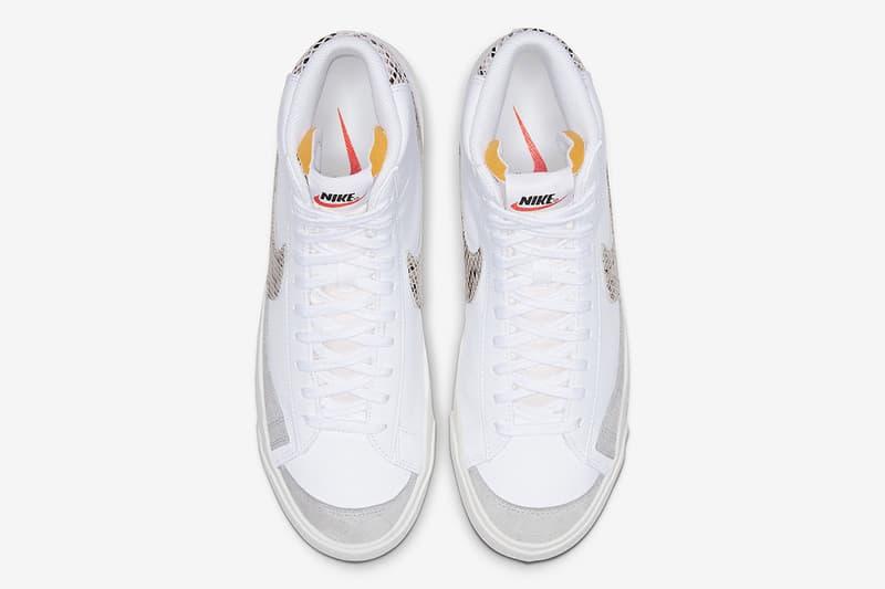 Nike 推出全新蛇紋 Blazer Mid '77 Vintage 鞋款