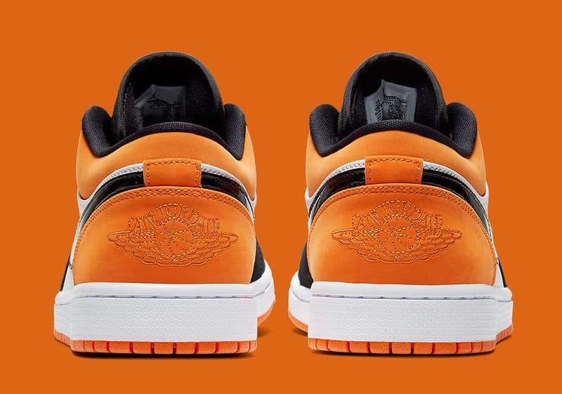 Air Jordan 1 Low「Shattered Backboard」鞋款官方圖片釋出