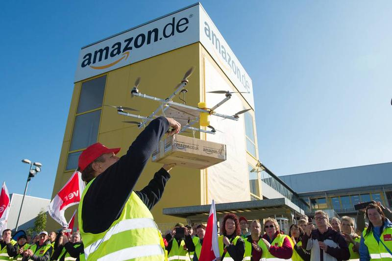 Amazon 或將在一年之內實現無人機快遞服務
