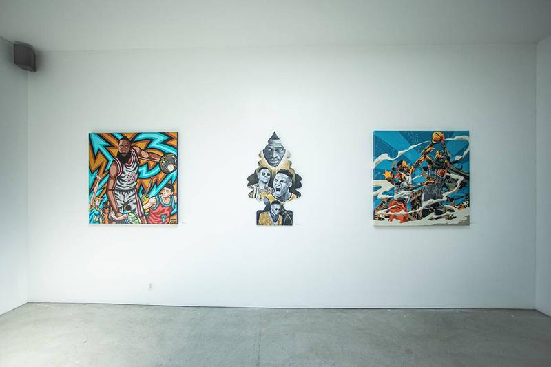 NBA 球員獎項 Voice Awards 藝展將於 Compound Gallery 展出