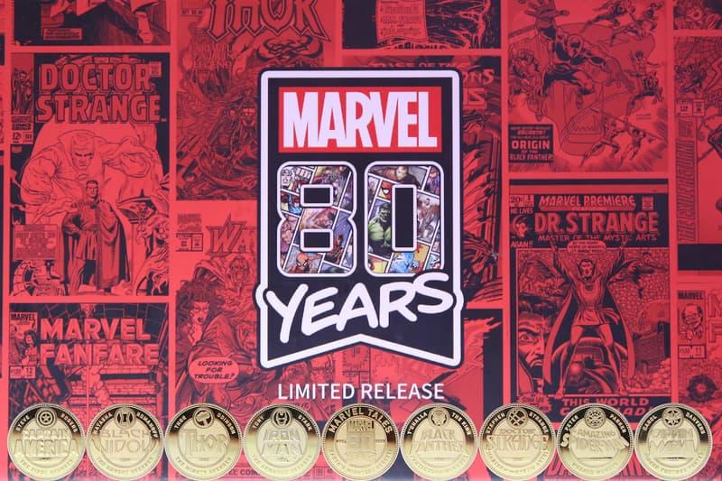 迪士尼打造了漫威 80 週年限量紀念幣