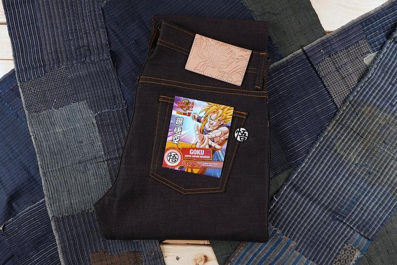 Naked & Famous x《Dragon Ball Z》全新 Denim 聯乘系列發佈