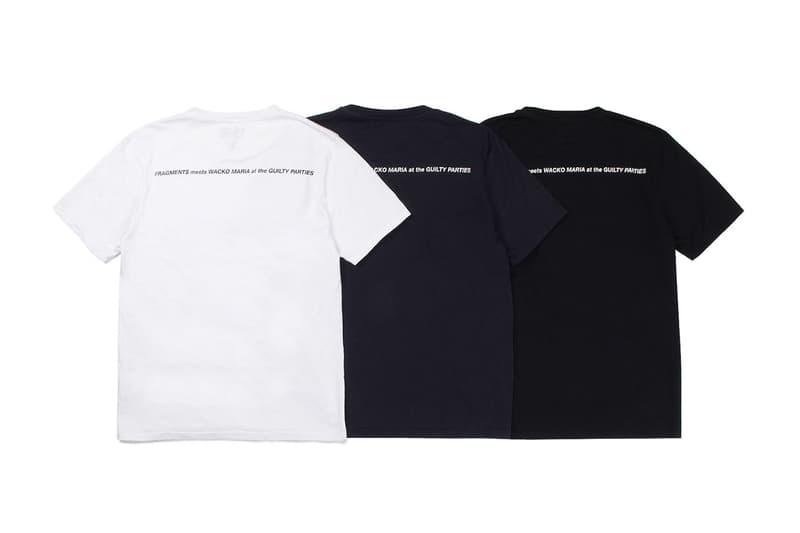 fragment design x WACKO MARIA 2019 秋季聯名系列登場